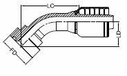 HF21P-WB - SCAT 9K FL 45