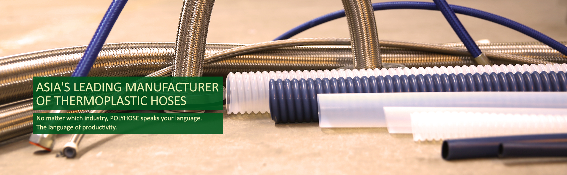 asia's leading manufacturer of thermoplastic hoses